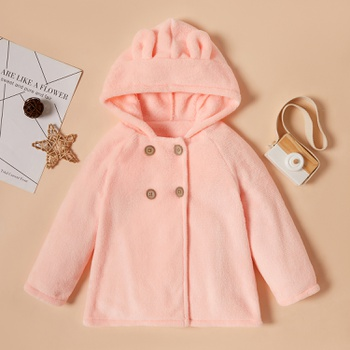 Toddler Girl Sweet Rabbit Coats & Jackets