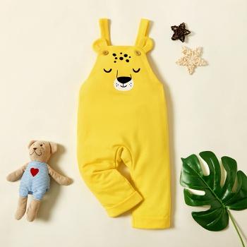 Baby Boy Animal Overalls