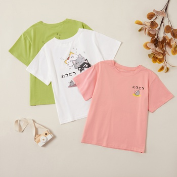 Beautiful Cute Cats Back Print Tees