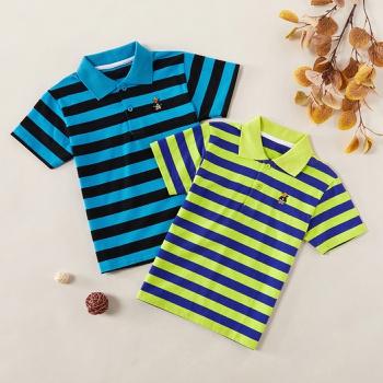 Fashionable Striped Polo Shirts