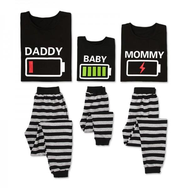 Hilarious Energy bar Print Family Pajamas Set