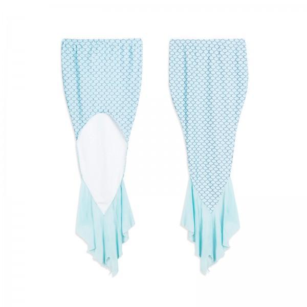 3-Piece Mermaid Bikini Set for Mom and Me