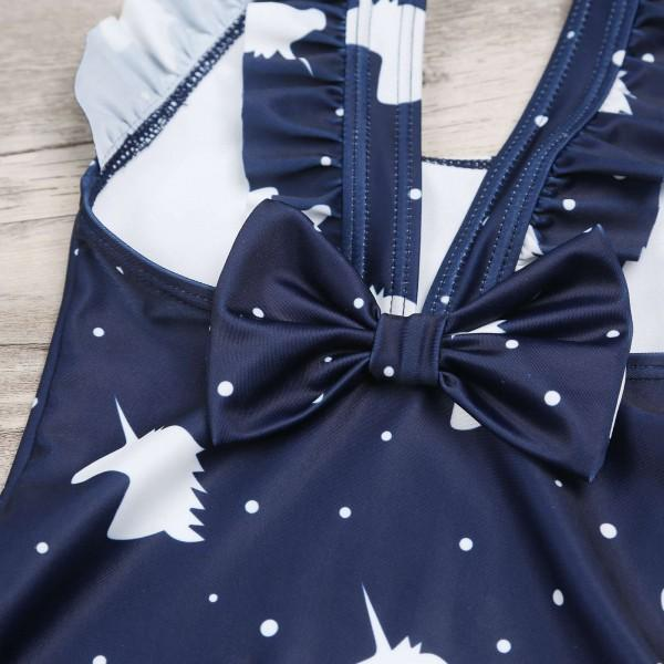 Lovely Unicorn Printed Family Matching Swimwear