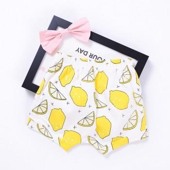 Baby's Lemon Pattern Shorts