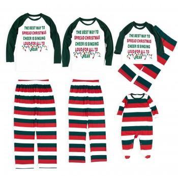 Spread Christmas Cheer Family Matching Pajamas
