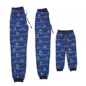 Christmas Cars Family Macthing Pajama Pants
