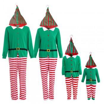 Elf Funny Christmas Matching Pajamas