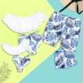 Breezy Palm Leaf Family Matching Swimsuit