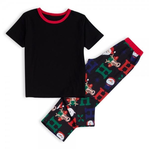 Christmas HOHOHO Short-sleeve Pajamas Family Matching