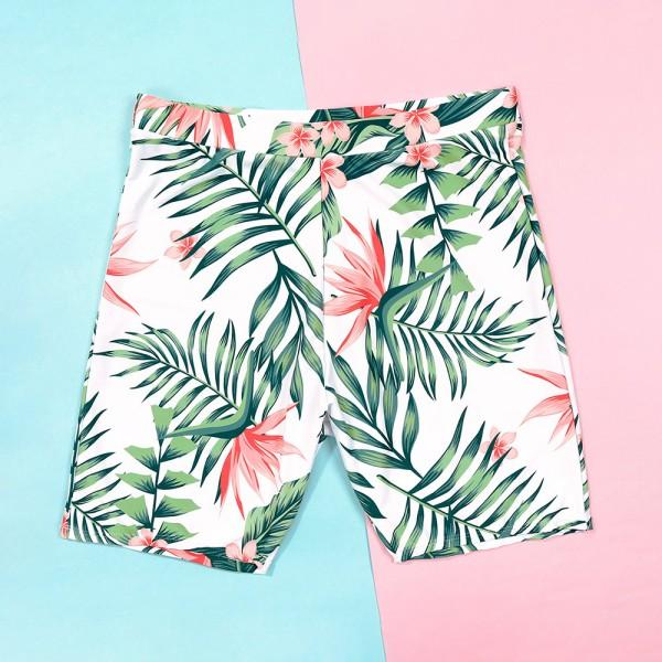 Summer Floral Breeze Family Matching Swimsuit