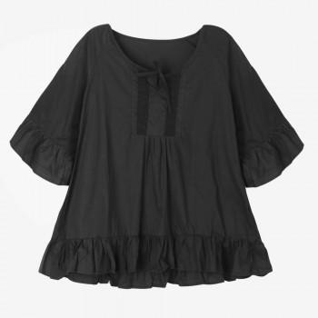 Classic Solid Loose Blouse for Pregnant Women