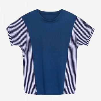 Loose Striped Maternity T-shirt