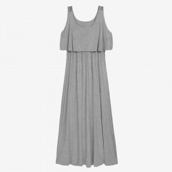 Women's Maternity High Waisted Maxi Tank Dress
