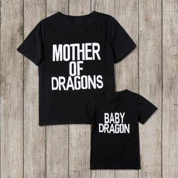 Mother & Daughter Matching Tees-MOTHER OF DRAGONS