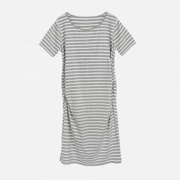 Women's Stripe Maternity Dress