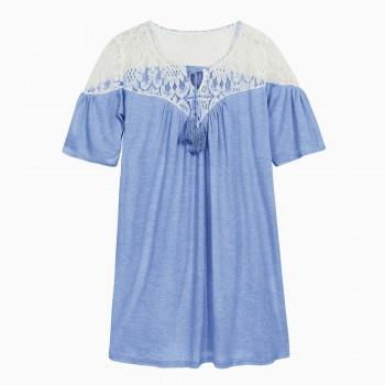 Women's Side Ruched Maternity T-shirt