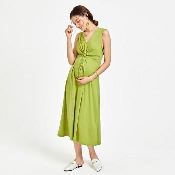 Women's Side Ruched Sleeveless Dress