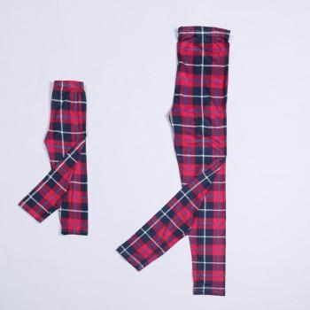 Mommy and Me Classic Plaid Printed Leggings