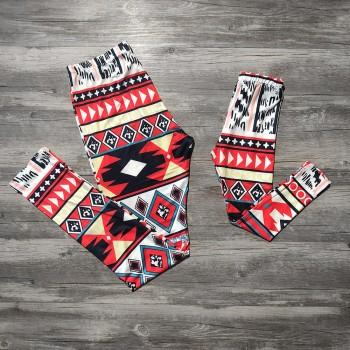 Boho Printed Matching Leggings for Mommy and Me