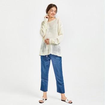 Women's Maternity Classic Thin Sweater
