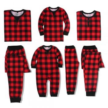Classic Plaid Pattern Family Christmas Pajamas