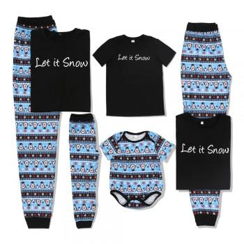 Cool and Warm Family Pajamas Set for Cold Chirstmas