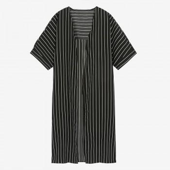Women's Maternity Stripe Thin Cardigan