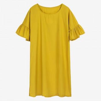Women's Maternity Classic Falbala Dress