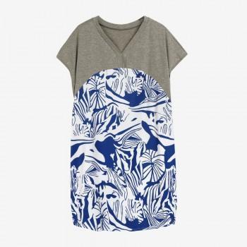 Women's Maternity Splicing Printing T-shirt