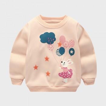 Balloon Rabbit Fleece Lined Pullover