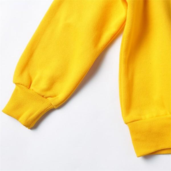 Lovely Penguin Print Fleece Lining Autumn Pullover for Toddler and Kid