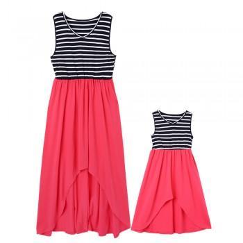 High-Low Matching Dress