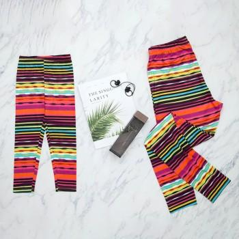 Mommy and Me Vintage Print Matching Leggings