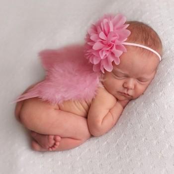 Newborn Baby Photography Prop Angel Wings Set