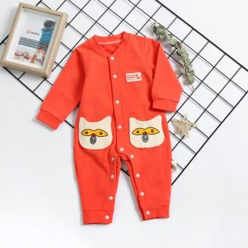 Monkey Applique Jumpsuit
