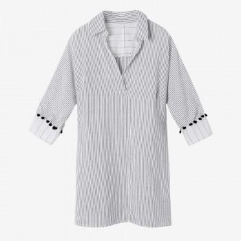 Tie Sleeve Detail Maternity Blouse
