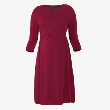 Classic Maternity Casual Dress