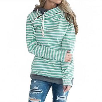 Simple Striped Hoodie