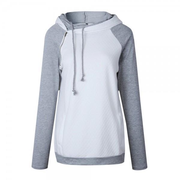 Simple Color Sweatshirt Hoodie