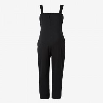 Solid Maternity Jumpsuit
