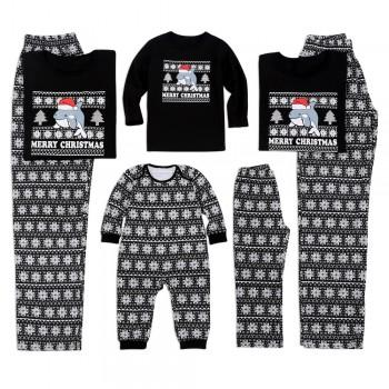 sleeping with dolphin christmas family matching pajamas - Maternity Christmas Pajamas