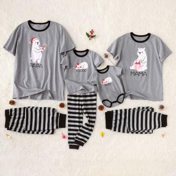Lovely Bear Family Matching Pajamas