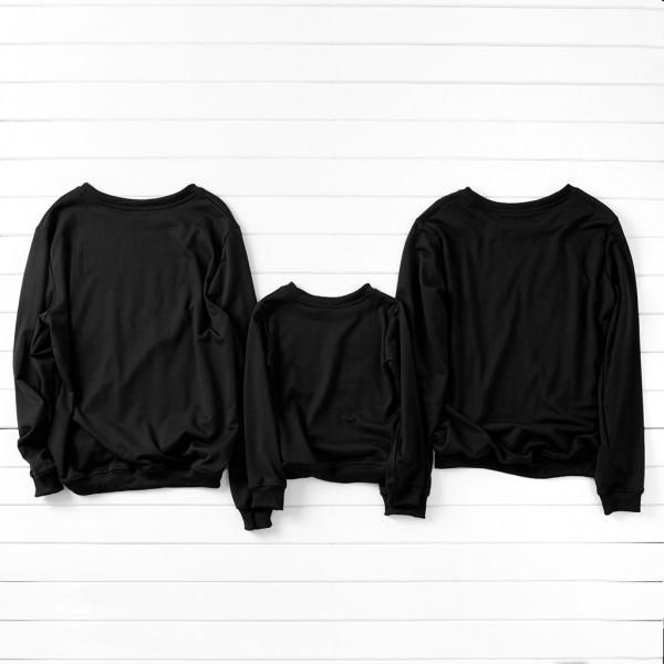 Simple Deer Pattern Family Sweatshirt