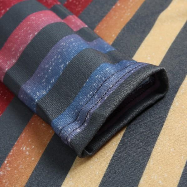 Pretty Drawstring Long-sleeve Pullover
