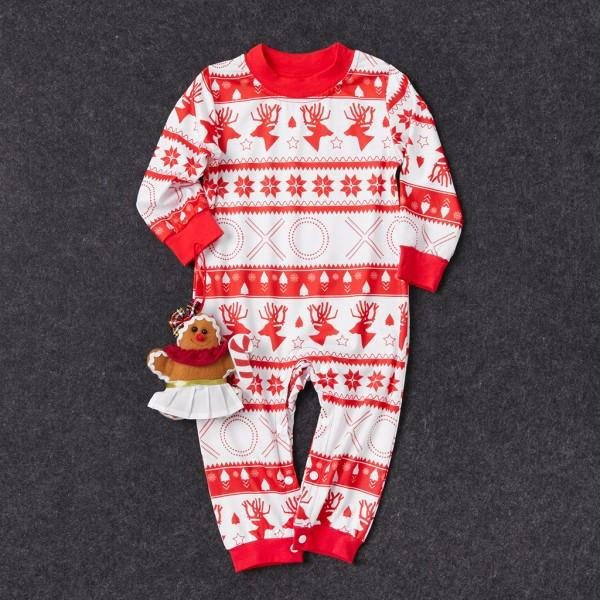 Lovely Reindeer Christmas Matching Pajamas