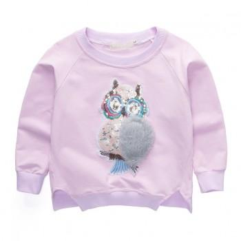 Cute Furry Owl  Sweatshirt