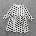 Toddler Girl Cat Print Dress
