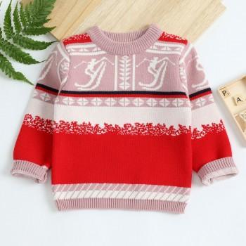 Toddler Ski Jacquard Sweater