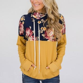 Sassy Drawstring Long-sleeve Pullover