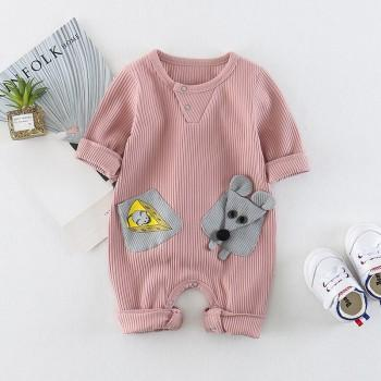 Cute Mouse Long-sleeve Jumpsuit for Baby